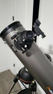 Celestron NexStar 130SLT f/5 Computerized Telescope with barlow lens