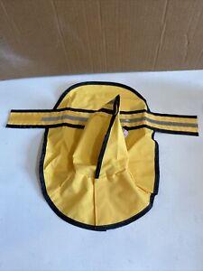 "Fashion Pet Rainy Day Dog Slicker - Yellow Small (10""-14"" From Neck Base to T..."