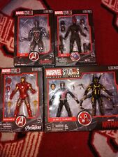 Marvel legends first tenyears lot red skull iron man tron ant-man yellow jacket