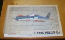ENAER TURBO PILLAN PRIMARY TRAINER AIRCRAFT  LEAFLET. ?March 1986