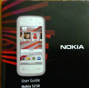 Genuine Original Nokia 5230 User Guide Manual