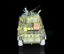 US Stock 1/16 Henglong 6.0 Upgraded M4A3 Sherman RC RTR Tank 3898 W/ 360°Turret