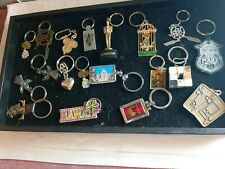 20 Assorted Key Chains Harley Davidson, Las Vegas, Indian, Superstar ++  3N21