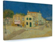 """Vincent van Gogh The yellow house CANVAS PICTURE PRINT WALL ART """"BOX FRAME""""A385*"""