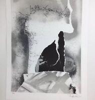 Donald Art Print 1992 Signed  Litho 1/100 Artist Signature 24x18 Large