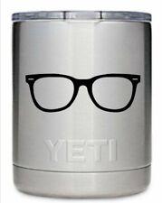 Eyeglasses men womens kids eyewear Yeti Decal, Die Cut Vinyl, Car Decal Sticker