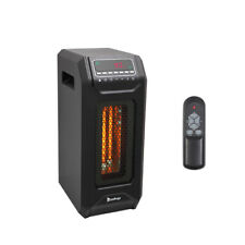 Home Office Use Electric Space Heater Infrared Heater Adjustable Thermostat New