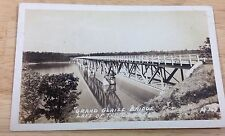 Antique RPPC Grand Glaize Bridge Lake of Ozarks Missouri Real Photo Post Card