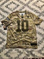 Nike Salute To Service NY Giants 10 Eli Manning Camo Jersey AH4948 335 Sz XL