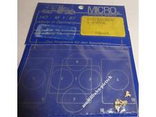 "Micro 88004   ""Steckdosen"" 4 Stück , H0 , 1:87 , neu , OVP, (  Micro-Metakit )"