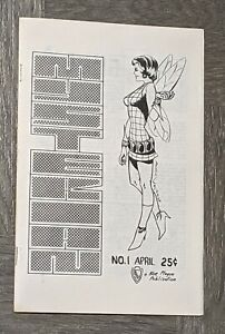 The Mysterian #1 April 1970 Fanzine Early Dave Cockrum Cover & Art Marvel Comics