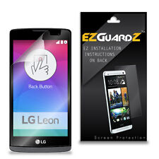 4X EZguardz Screen Protector Skin Cover Shield HD 4X For LG Tribute 2 (Clear)