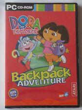 Dora the Explorer Sac à Dos Aventure PC CD-ROM Game Brand New & Sealed!