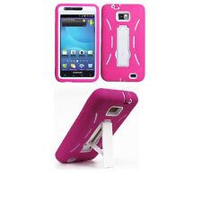 CC + LCD Guard + Hybrid Cover Case for Samsung Galaxy S II 2 SGH-i777 Phone