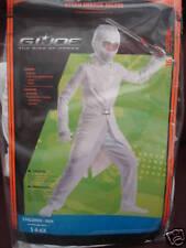 Boys Gi Nija Storm Shadow Kids Halloween Costume S4-6x-Brand New in Factory Seal