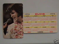 1974 Elvis Presley/RCA Wallet Calendar NM/Mint cond.