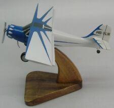 Denney Kitfox 4 American Airplane Desktop Kiln-Dry Wood Model Regular New