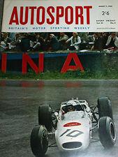 JAGUAR E TYPE 2+2  1966 VERY ORIGINAL RARE TEST + RICHIE GINTHER HONDA F1 SPA