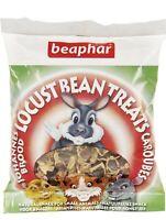 Beaphar Small Animal LOCUST BEAN TREATS Hamster Rabbit Guinea Natural Treat 85gm