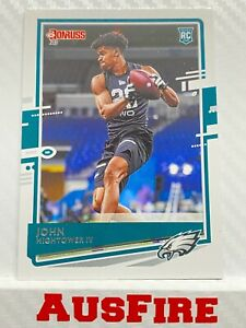 NFL John Hightower IV Philadelphia Eagles 2020 Panini Donruss Rookie Card #278