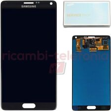 vetro touchscreen originale Samsung Galaxy Note 4 nero schermo LCD display touch