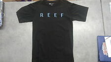 """Reef Men's """"Issues"""" T-Shirt Graphite Small"""