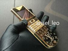 LUXURY ORIGINAL NEW NOKIA 8800 Sirocco 18k Gold LV Edition 8800d Mobile Phone