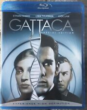Gattaca: Special Edition Blu-ray Disc Out Of Print Oop! Law Hawke Thurman Niccol