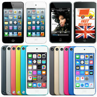 Apple iPod Touch 3 4 5 6 Gen 16 32 64 RED SILVER GREY BLUE GREEN YELLOW WARRANTY