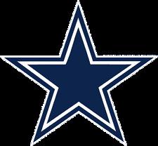 "Set of (2) Dallas Cowboys Star Die-Cut Vinyl Decal Sticker 3"""