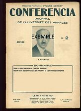CONFERENCIA Manon Lescaut Albert Roussel Nietzsche Wagner