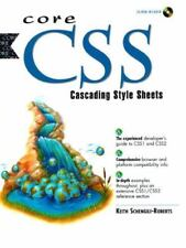 Core CSS : Cascading Style Sheets by Keith Schengili-Roberts