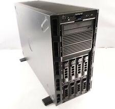 Dell Poweredge T630 2x E5-2620v3 64gb (4x16Gb) 4x600Gb Hd Tested H730