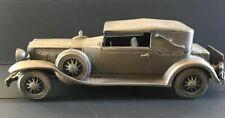 Danbury Mint Pewter Car-1930 Parkard Convertible