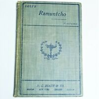 Ramuntcho - Pierre Loti - D.C. HEATH & CO Hardcover French 1st Edition 1903