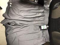 Under Armour Men's Shorts: Grey, Size: Large