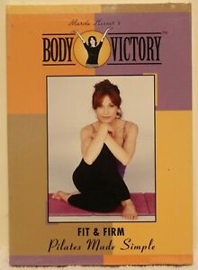 NEW Fit & Firm Pilates Made Simple Marilu Henner's Body Victory workout DVD