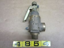 """KUNKLE RELIEF VALVE FIG. FIG. 23MA 3/4"""" X 3/4"""""""