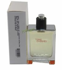 TERRE D' HERMES TSTER 3.3/3.4 OZ EDT SPRAY FOR MEN NEW IN A TSTER BOX BY HERMES
