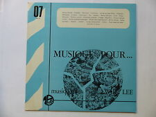Musique pour ... Radio and TV Musical illustrators WILLY LEE  MP07 Library