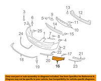 HYUNDAI OEM Elantra Bumper-Foglight Fog Light Tow Hook Cover Left 865633Y500