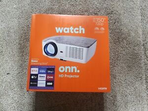 ONN 720P HD Portable Projector (includes Roku Streaming Stick) - NEW