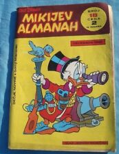 Walt Disney ~ MICKEY MOUSE - MIKIJEV ALMANAH No 18   YUGOSLAVIA 1968