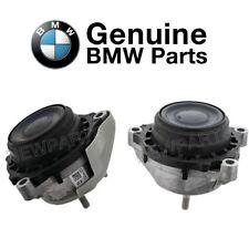 Pair set of Left & Right Engine Mounts Genuine Fits BMW F07 F30 F36 335i xDrive