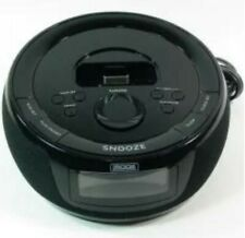 iMode iP215 Clock Radio/Dock for iPod (Black) w/remote and inserts