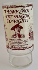 Coca cola Pint Glass Tumbler 16 floz  i Have Not Yet Begun To Fight John P Jones