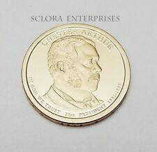 2012 S Chester A Arthur Presidential  *PROOF* Dollar Coin **FREE SHIPPING**
