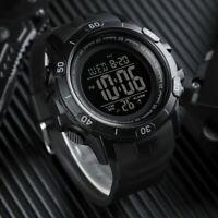 SKMEI Men's Military Large Digital Sport Alarm Date Week Wrist Watch Shockproof