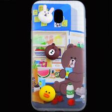Custodia cover TPU flessibile ANIMAL 3D spuntino per Samsung Galaxy J5 2017 J530
