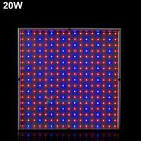 20W Full Spectrum Led Grow Light Lamp Bulbs Panel For Veg Aquarium Indoor Plant